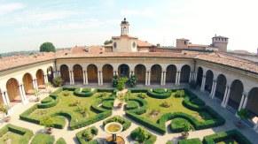 giardino palazo ducale